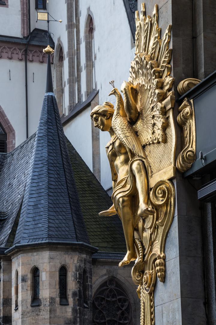 Engel an der Thomaskirche