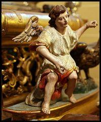 Engel auf dem Kutschbock