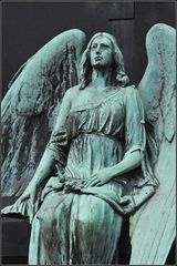 Engel auf Melatenfriedhof 1