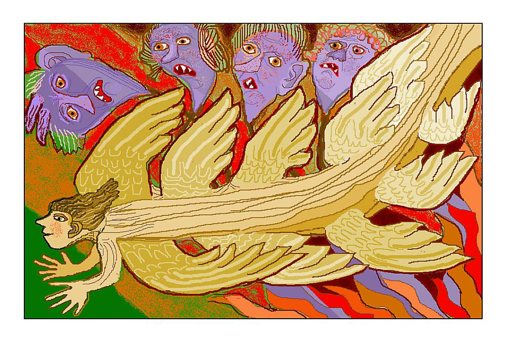 Engel beflügelt