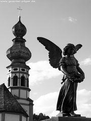 Engel, der Kirche abgewandt