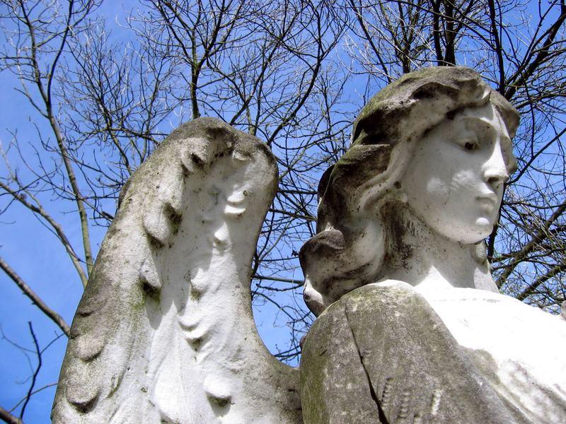 Engel des Highgate Cemetery