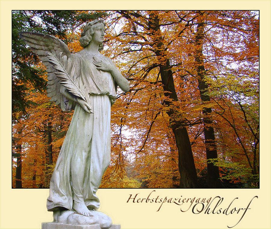 Engel im Herbst