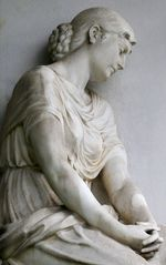 Engel im Profil