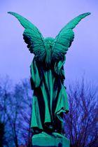 Engel in der blauen Stunde