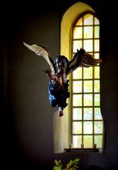 Engel in der Dorfkirche zu Stolpe bei Berlin