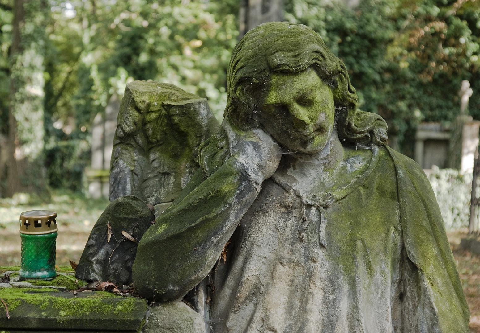Engel in Grün