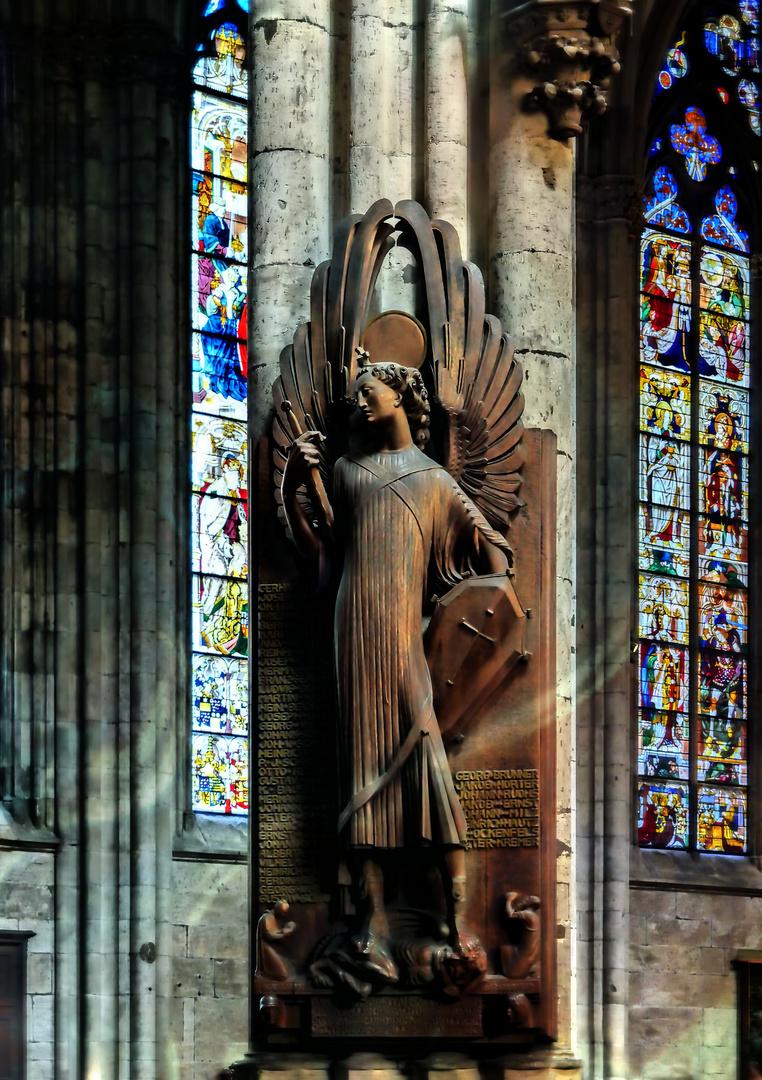 Engel mit Engelsschwert...
