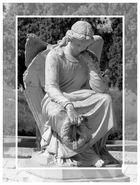 Engel mit gebrochenem Flügel