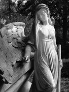 Engel mit hängenden Flügel