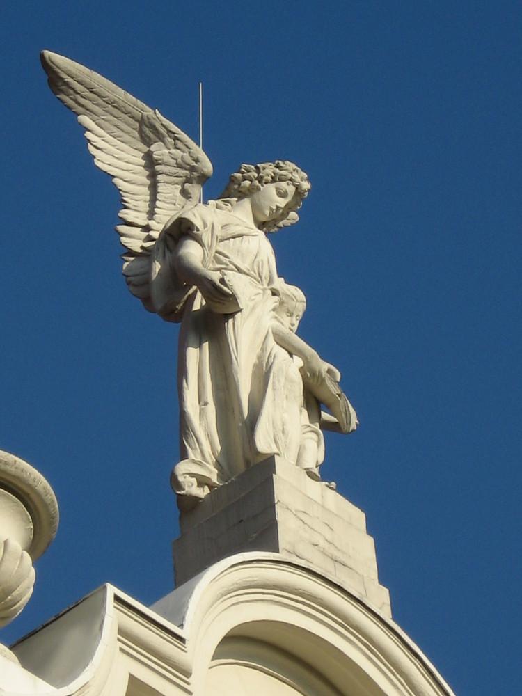Engel über Baden-Baden