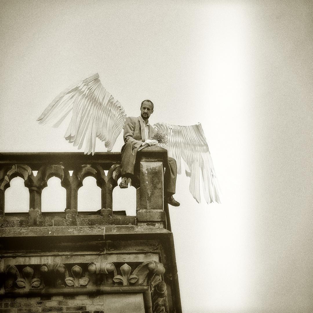 Engel über Bremen