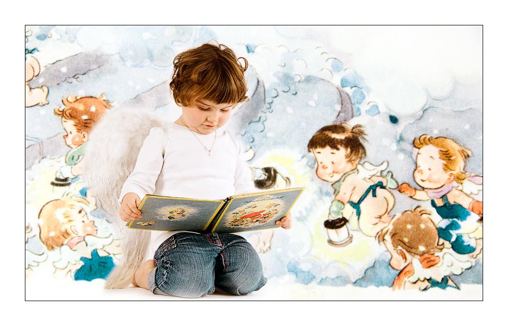 - Engelchen beim studieren -