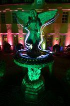 Engelsbrunnen bei Nacht
