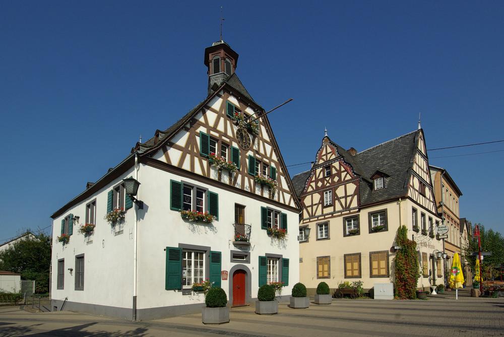 Engers / Rhein (Altes Rathaus und Schlossschenke)