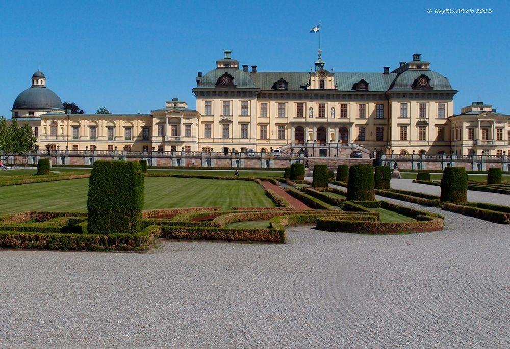 Englischer Garten im Schloßpark Drottningholm