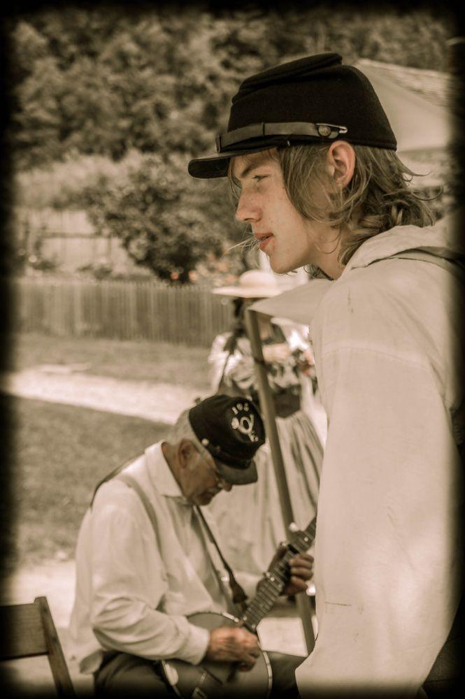 Enjoying the Banjo
