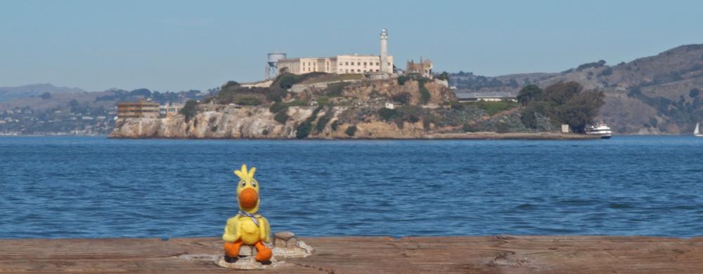 Ente und Alcatraz
