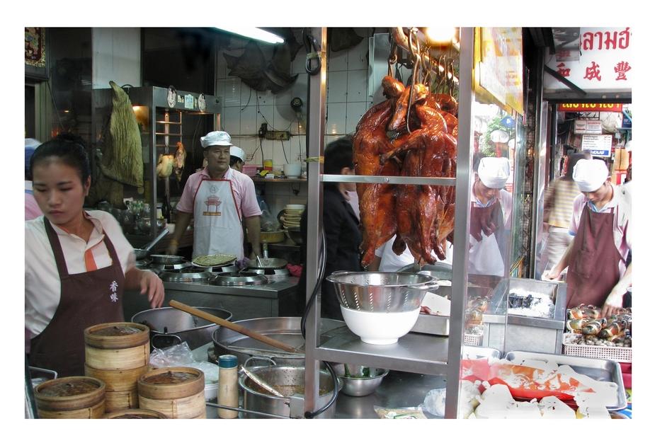 Enten in Chinatown