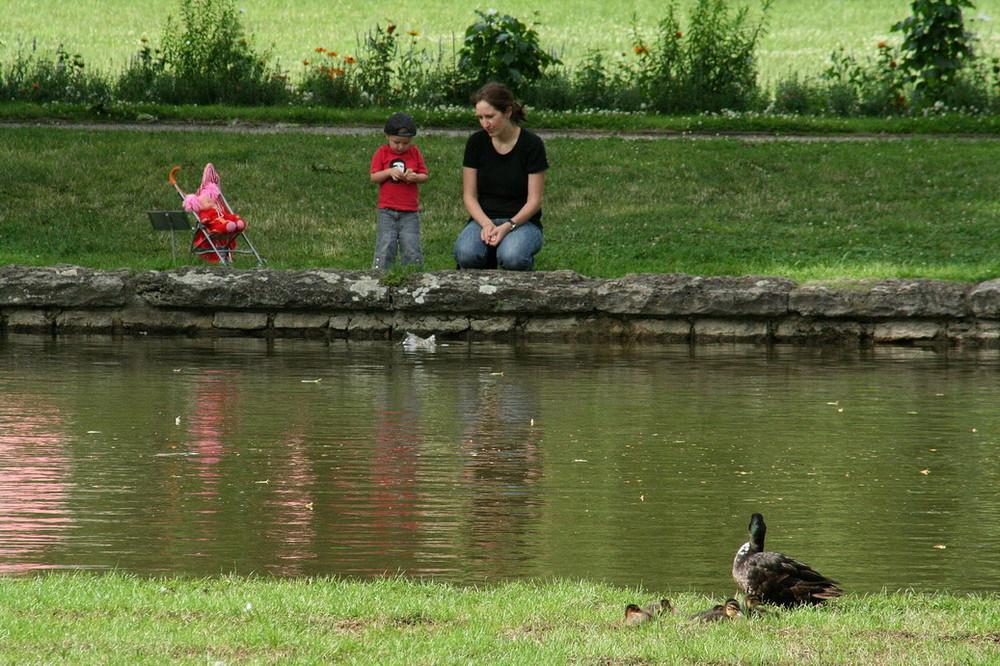 Enten und Menschen...