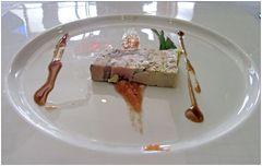 Entenleber-Paté mit Kastanie u. Trüffel
