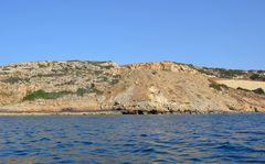 Entlang der Felsküste bei Skaleta auf Kreta
