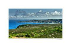 - entlang der Küste -