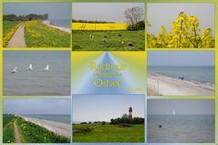 entlang der Ostsee