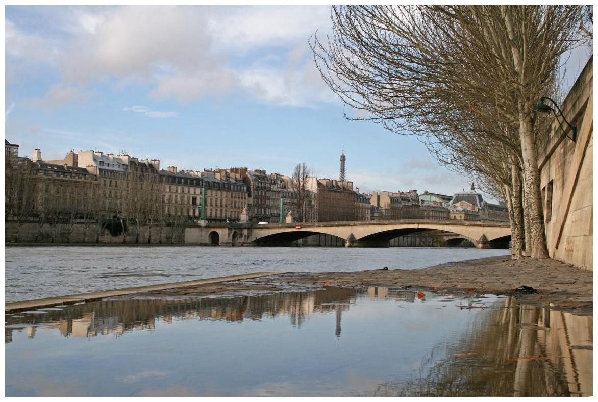 entlang der Seine