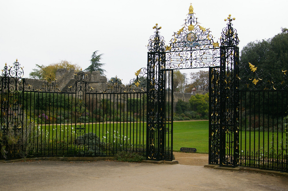 Entrance to New College Green. Oxford