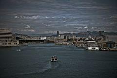 Entrando al puerto.