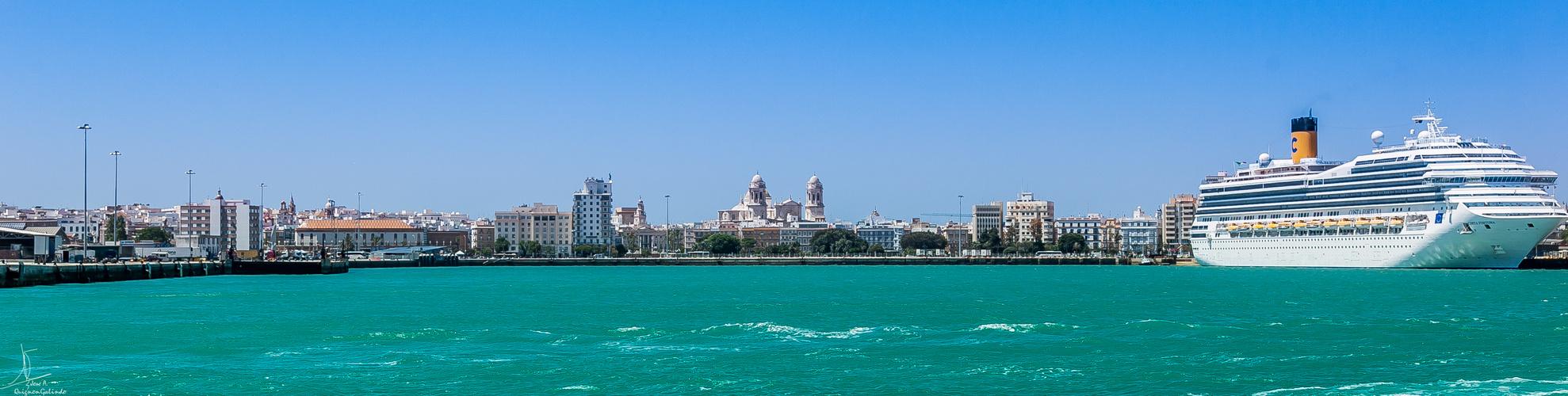 Entrando en Cádiz