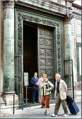 Entrata al Battistero di Firenze