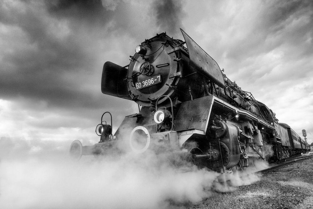 Entre fumée et vapeur , La Machine !