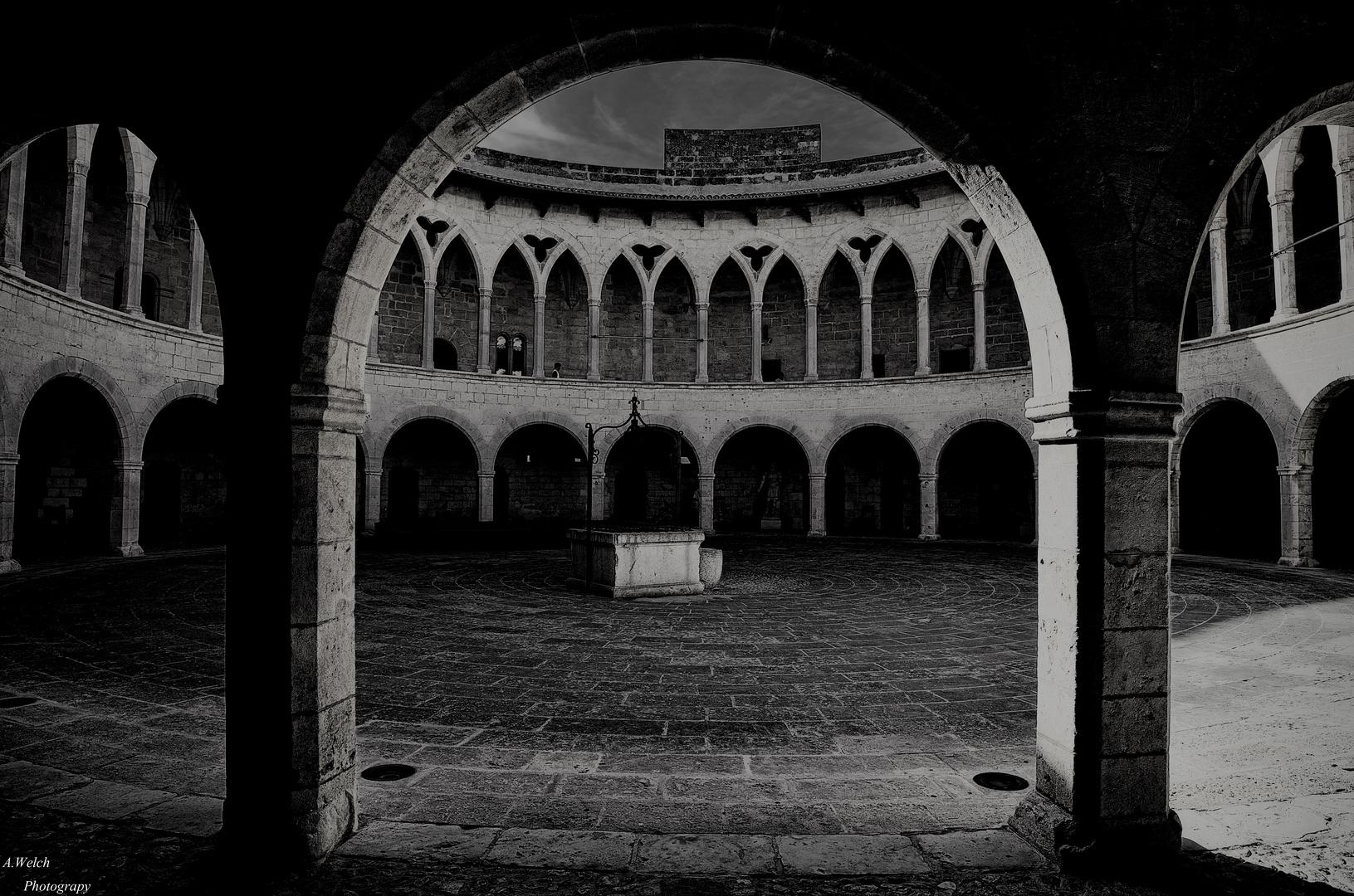 Entre la oscuridad