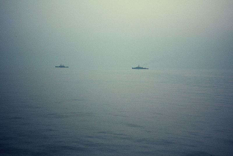Entre Le Havre et Southampton