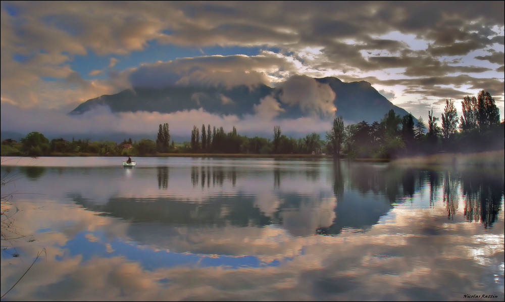 """"""" Entre les nuages """""""