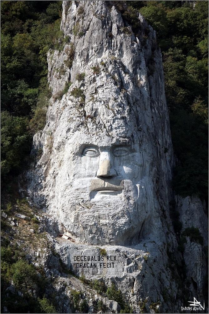 Entre Roumanie et Serbie - Tête de Décébale (km 967)