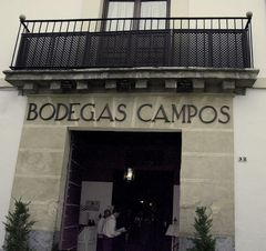 Entrée Bodegas-Campos