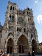 Entrée de la cathédrale d'Amiens