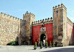 Entrée de l'Alcazar de Séville