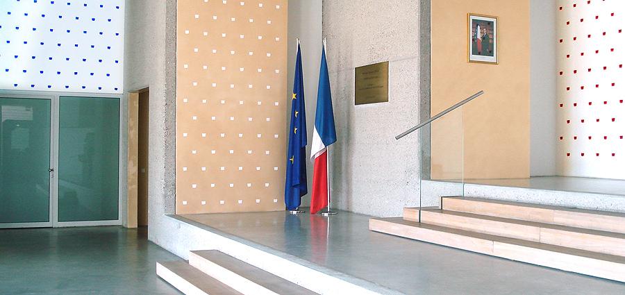 Entrée de l'Ambassade de France à Berlin