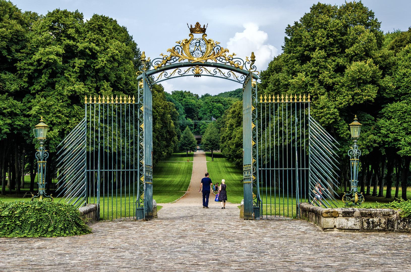 -Entrée du Château de Chamarande (Essonne)-