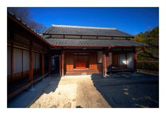 Entrence of old Japanese house