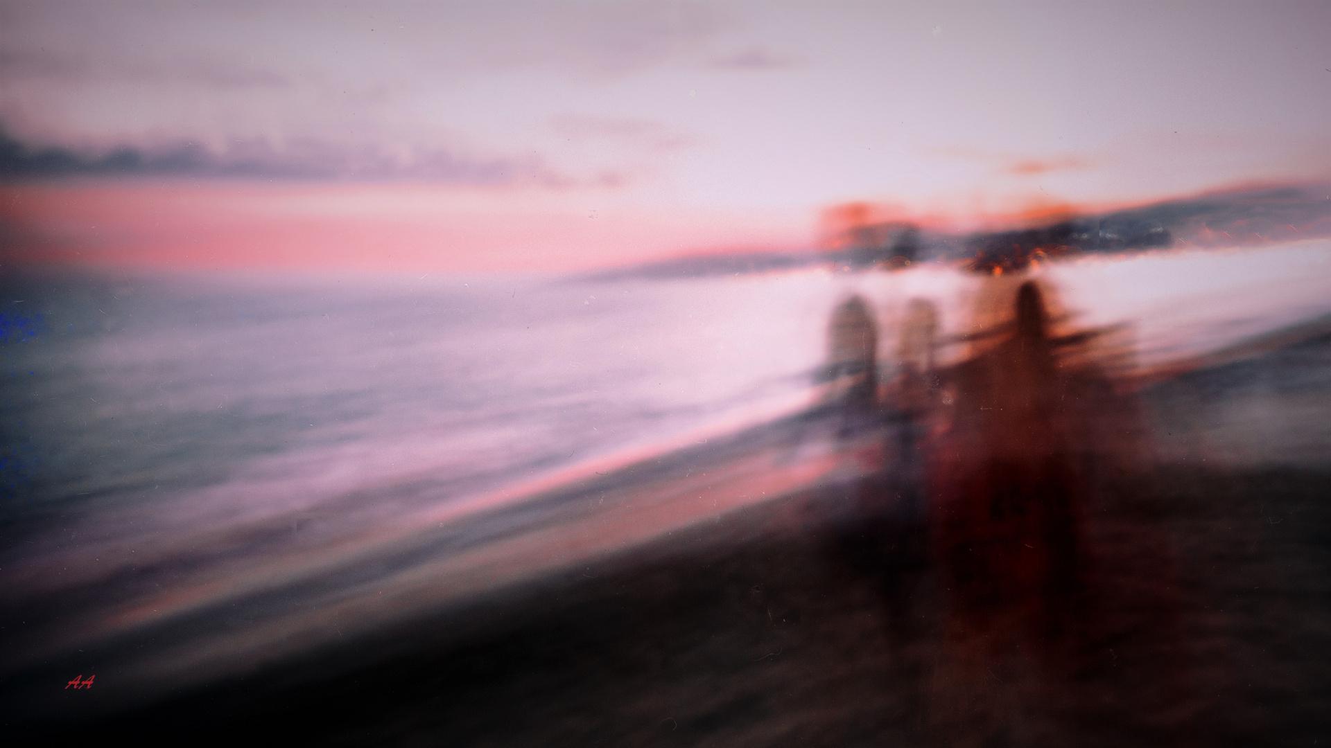entropic sunset