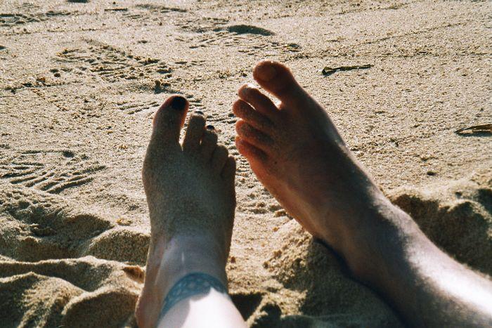 entspannen am Hat Rin Beach