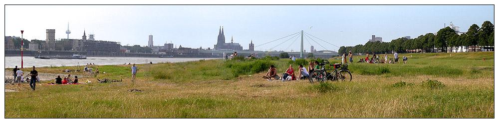Entspannen in Köln...
