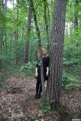 Entspannung am Baum