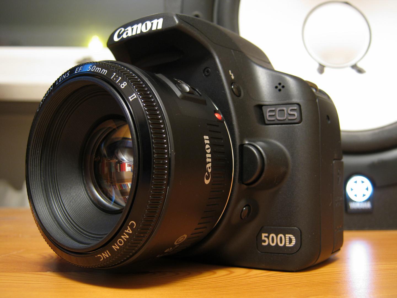 Eos 500D mit Powershot A 495