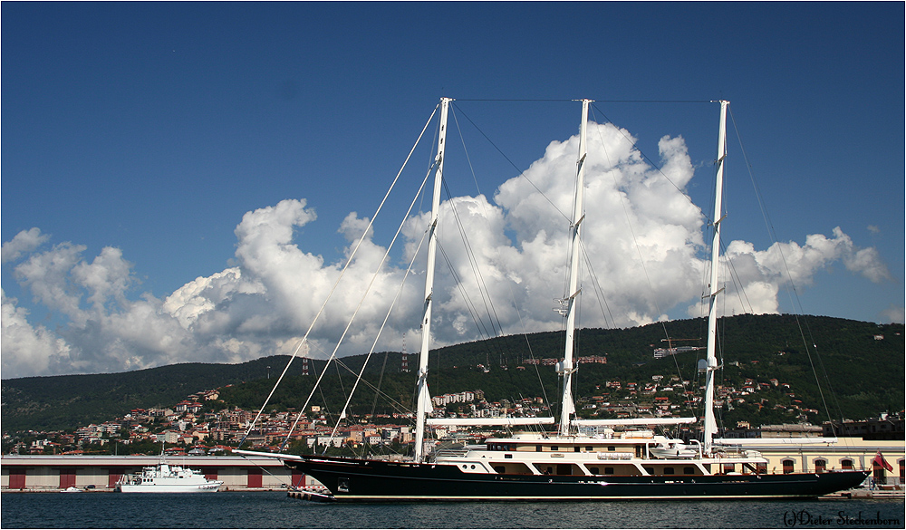 EOS, the world's largest sailing yacht